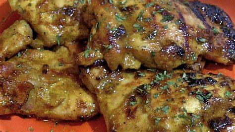 honey curry chicken thighs recipe divas can cook