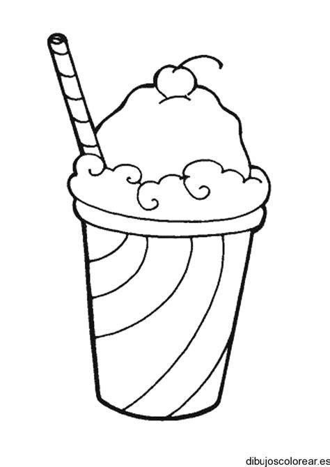 imagenes de helados kawaii para colorear alimentos