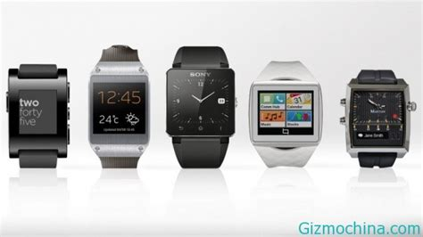 Smartwatch comparison that already in the market today.   Gizmochina
