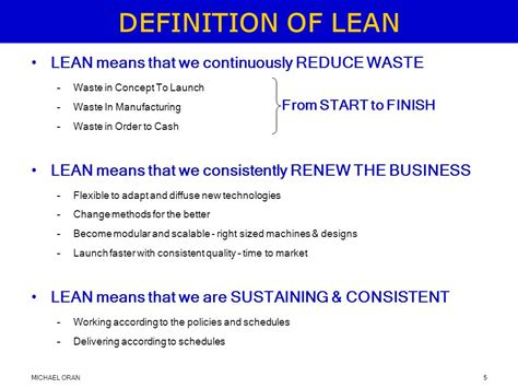 design consistency definition business excellence with lean ppt video online download