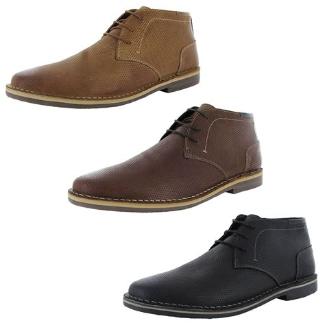 steve madden mens helee1 perforated chukka boot shoes ebay