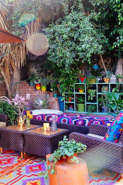 bohemian backyard 17 beauty bohemian patio designs top easy decor project