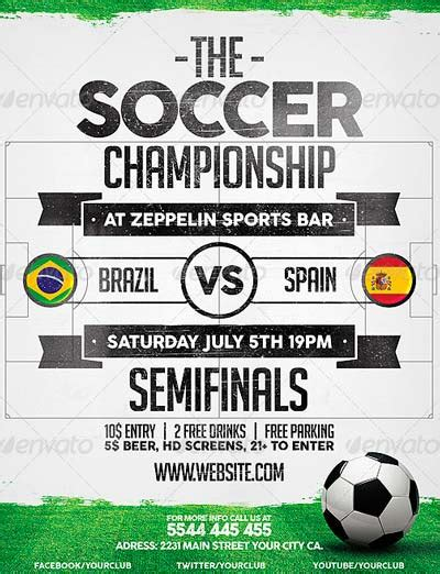 best soccer flyer templates no 1 download psd flyer