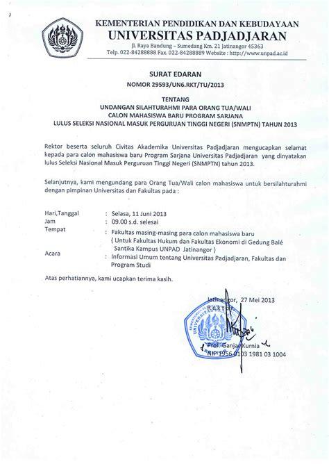 informasi registrasi mahasiswa baru universitas padjadjaran