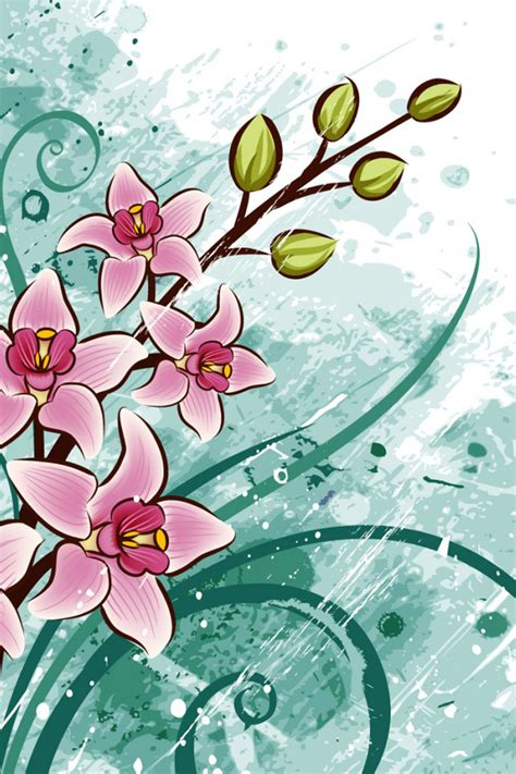 download wallpaper girly mobile abstract flower android wallpaper free download for mobile