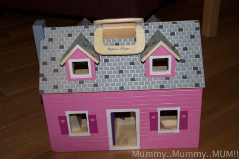 melissa and doug dolls house melissa and doug fold and go dolls house