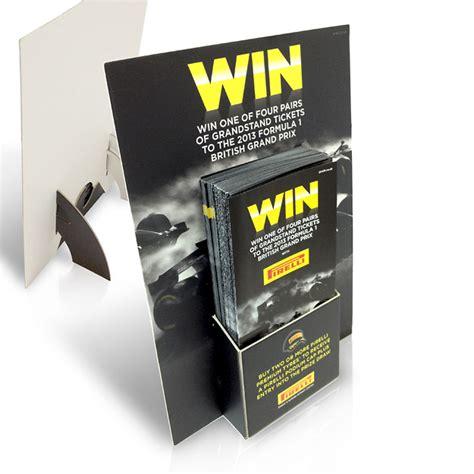 leaflet dispensers  promote  company brand