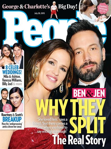 Garner On The Cover Of by Ben Affleck And Garner S Breakup Covers