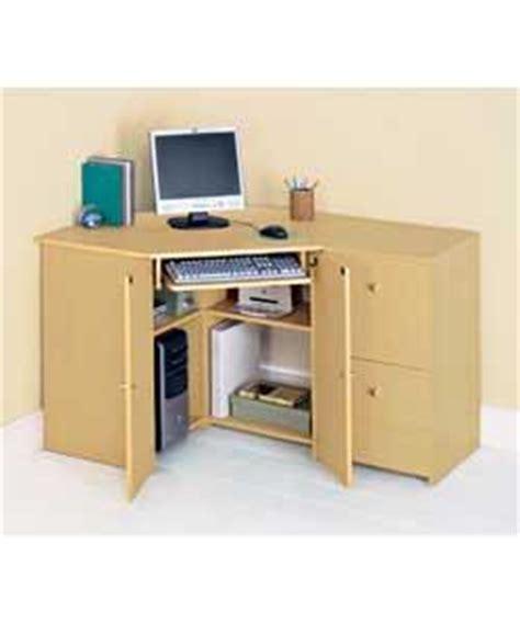 Corner Hideaway Computer Desk Corner Computer Desk