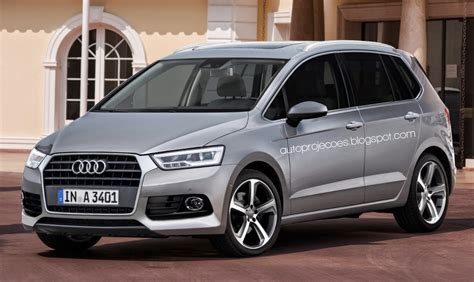 mpv van audi a3 plus mpv rendered based on 2016 vw touran