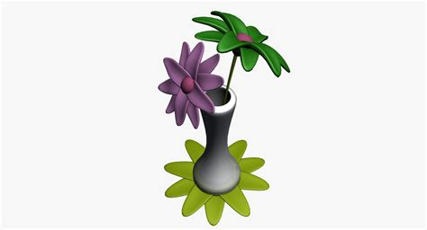 3d Flower Vase by 3d Flowers Vase