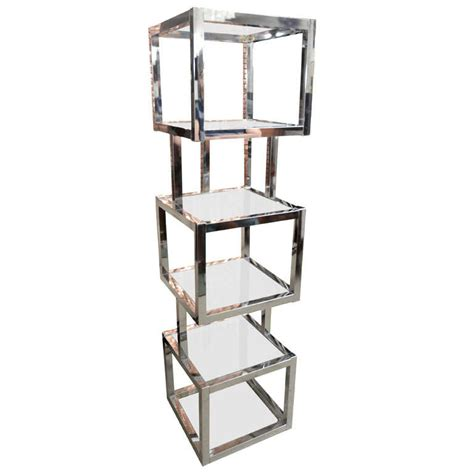 Etagere 8 Cubes by Sculptural Cube Tower Etagere