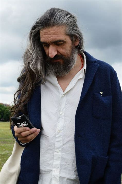 long grey hair men 25 best ideas about grey hair men on pinterest undercut