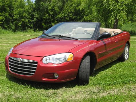 2004 chrysler convertible 2004 chrysler sebring overview cargurus