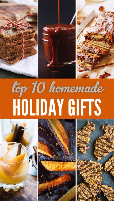 top 10 holiday gift recipes