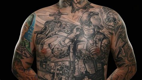 australian soldiers reveal the meaning behind their tattoos