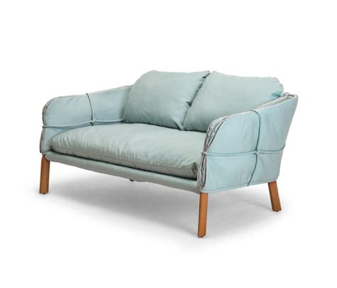 siam parchment sofa loveseat parchment loveseat sofas from kenneth cobonpue architonic