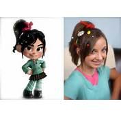 Vanellope Von Schweetz  Wreck It Ralph Hairstyles Cute Girls