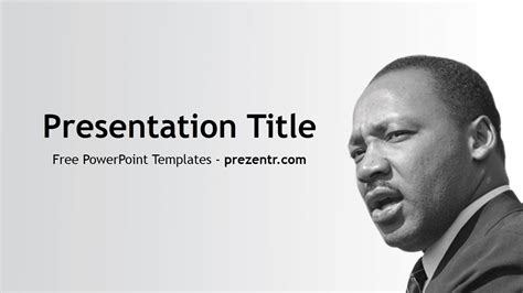 Free Martin Luther Powerpoint Template Prezentr Martin Luther Powerpoint