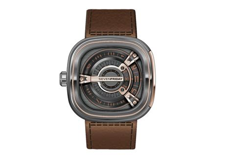 Seven Friday M2 2 Limited Edition Brown Leather Set Clone Ori sevenfriday launches m2 02 at baselworld 2015