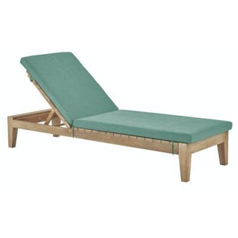 home depot chaise lounge chairs home decorators collection bermuda wood outdoor chaise