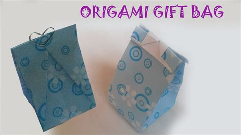 Origami Paper Purse - origami easy origami gift bag tutorial
