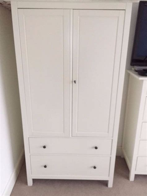 Hemnes Armoire by Discontinued White Hemnes Wardrobe Collection From