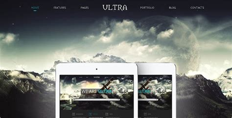 bootstrap themes parallax 45 most popular bootstrap themes free website templates