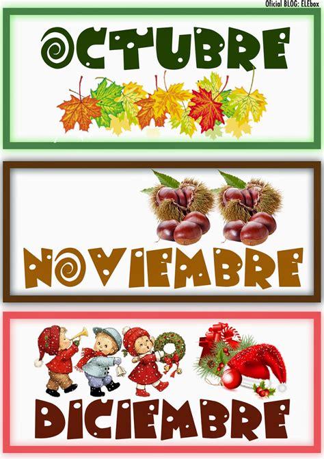 imagenes de octubre noviembre los meses del a 241 o elebox