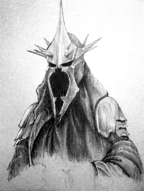 The Lord Of The Rings Drawings Witchking Witchking Of