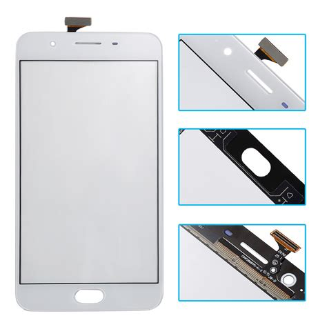 Lcd Touchscreen Oppo F1s Fullset Original touch screen digitizer front glass lens replacement parts for oppo f1s white ebay