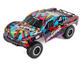 Electric Rc Car Engine Sound Slash 1 10 Rtr Course Truck Hawaiian Edition By