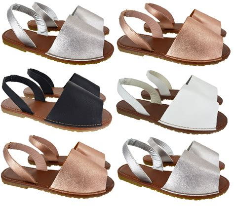 sandals that are for your womens summer menorcan flat slingback open toe