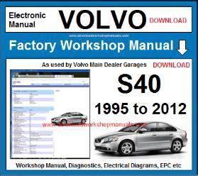 volvo  workshop service repair manual