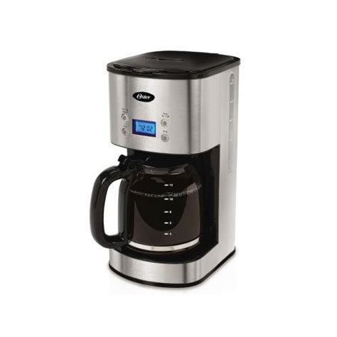 Oster 12 Cup Programmable Coffee Maker BVST JBXSS41   Stainless Steel by Oster   Gourmet Coffee