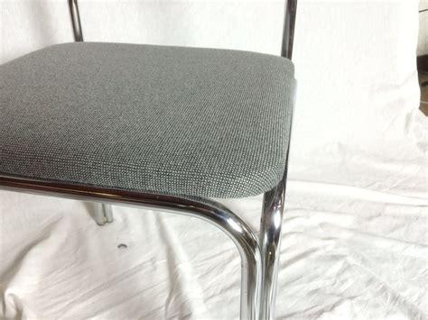 design len jaren 60 chrome buisframe eetkamerstoelen uit de jaren 60 set van