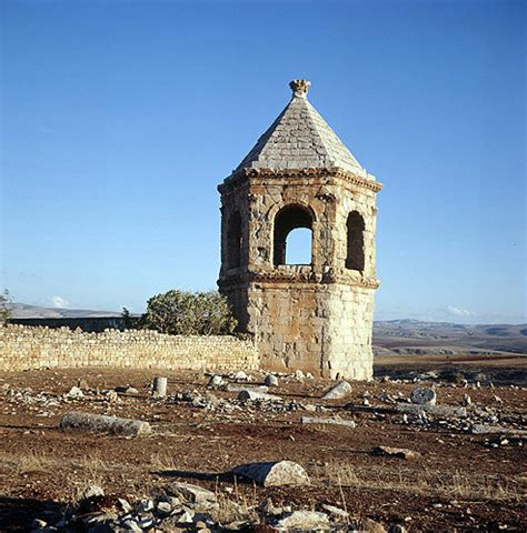 Syria, Cyrrhus, hexagonal mausoleum in which the roof is
