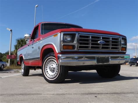 ford f150 short bed 1984 ford f150 xlt short bed original 302ci automatic