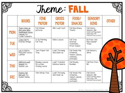 kindergarten topics themes 398 best preschool fall theme images on pinterest autumn