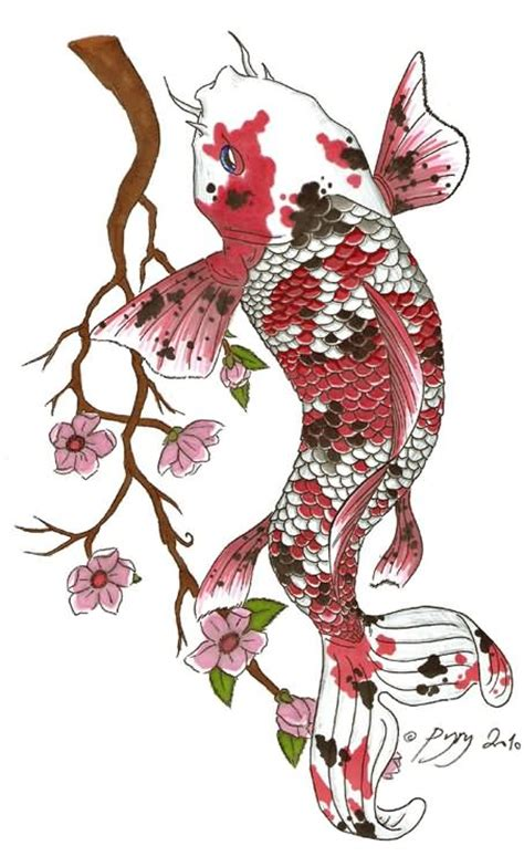 koi and flower tattoo designs 30 koi fish designs with meanings