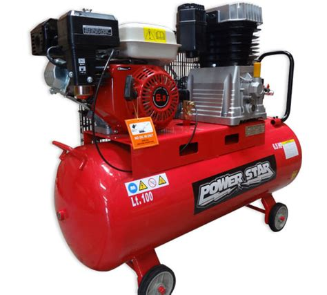 air compressor 6 5 horsepower 17 3cfm petrol aircompessor with 100litre tank ebay
