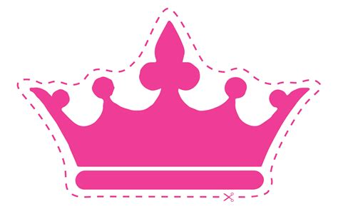 princess cut out template 10 best images of cut out crowns and tiaras crown