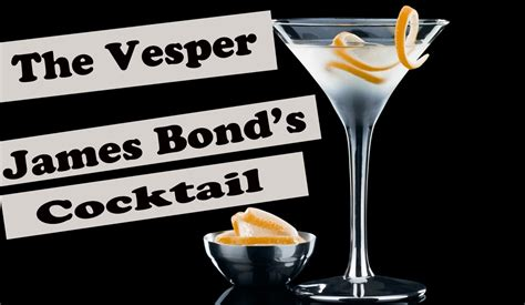 vesper martini james the vesper cocktail how to from casino roayale james