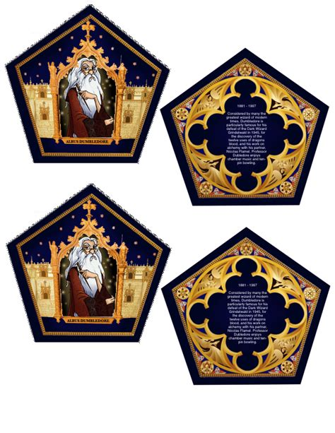 harry potter wizard cards template the empty suitcase chocolate frog cards