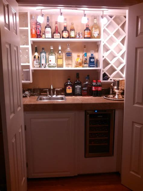 Anderson Cabinets Built In Wet Bar My Home Pinterest