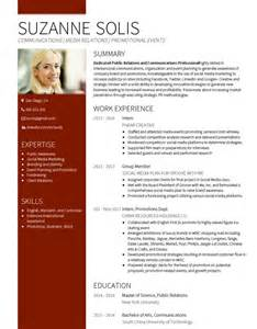 Photography Cv Template by Cv Builder And Professional Resume Cv Maker Visualcv