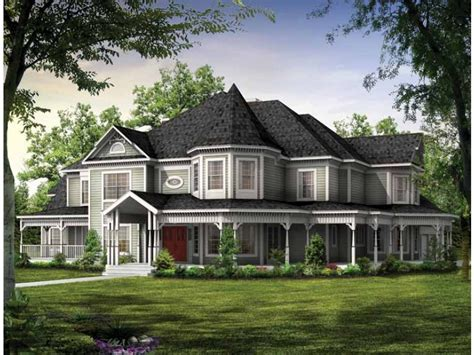 Eplans Queen Anne House Plan Victorian Estate 4826 Country Style House Plans With Pictures