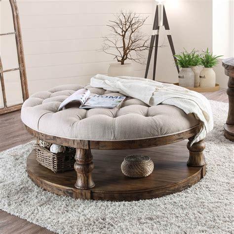 furniture  america tanenbaum rustic  coffee table