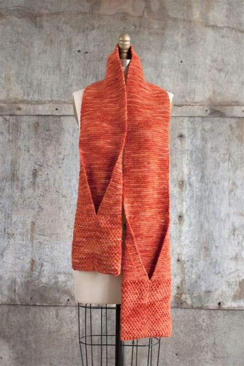 free pattern knitting pinterest camote pocket scarf free pattern knitting pinterest