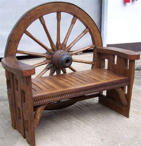 wagon wheel bench wagon wheel bench home sweet home pinterest